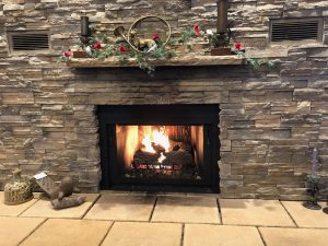 Fireplace at Noble